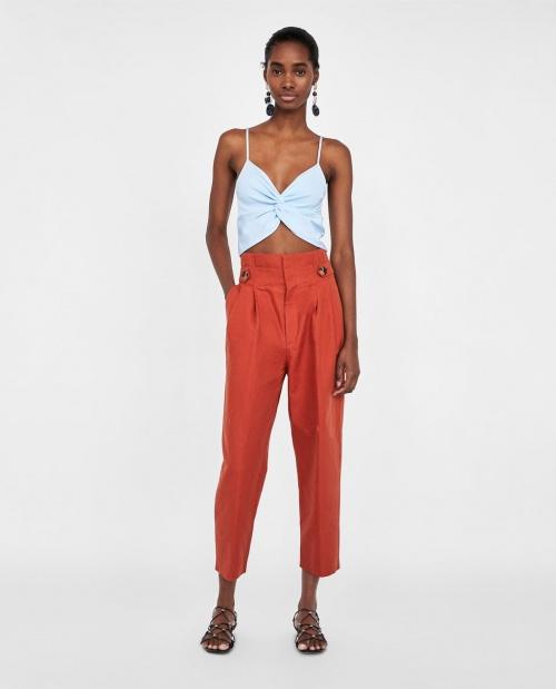 Zara - Crop top