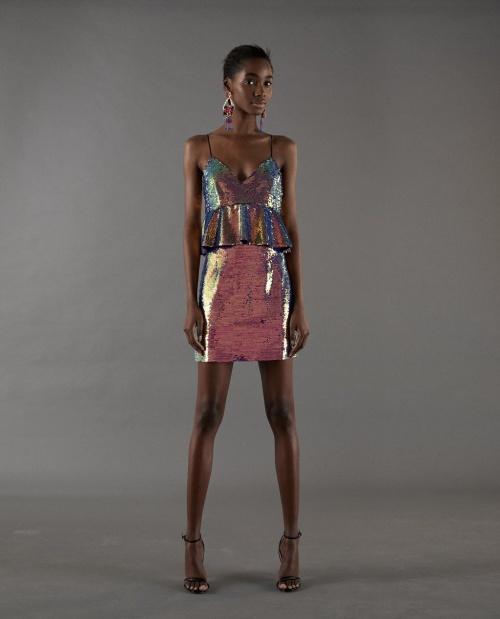 Zara - Robe multicolore