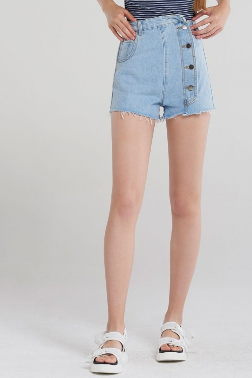 Storets - Short en jean taille haute