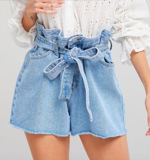 Storets - Short en jean épais