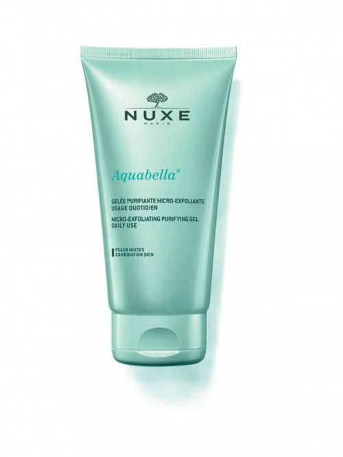 Nuxe -Gelée Purifiante Micro-exfoliante usage quotidien Aquabella®