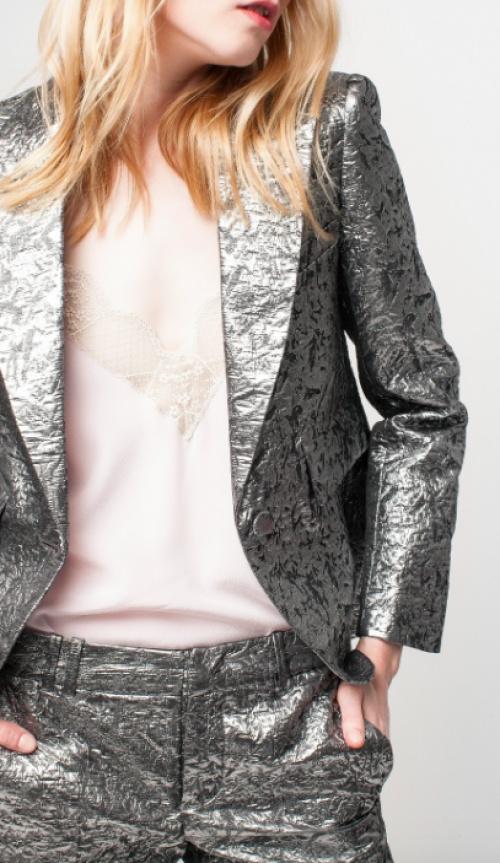 Zadig & Voltaire - Vistar Jac Metal Jacket