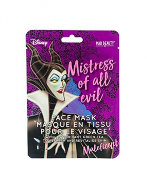 Mad Beauty - Masque facial en tissu Disney - Maleficent