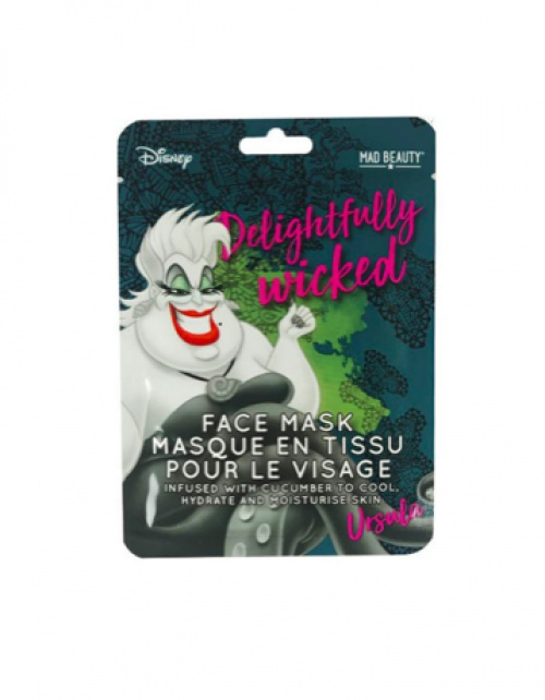 Mad Beauty - Masque en tissu facial Disney - Ursula