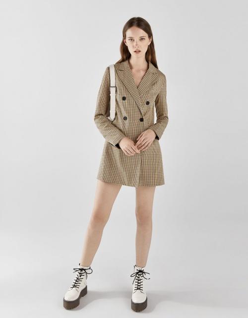 Bershka - Veste Tailleur Type Robe