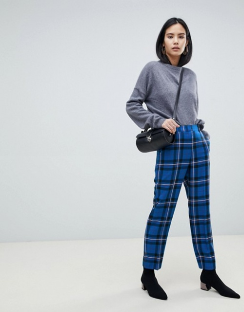 ASOS Design - Pantalon à carreaux