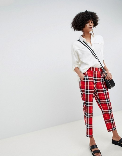 ASOS Design - Pantalon à carreaux