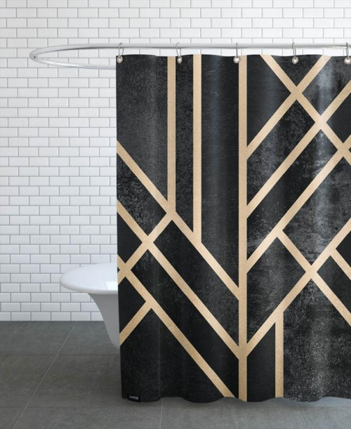 Joniqe - Art Deco Black