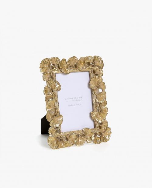 Zara Home - Cadre doré forme feuilles