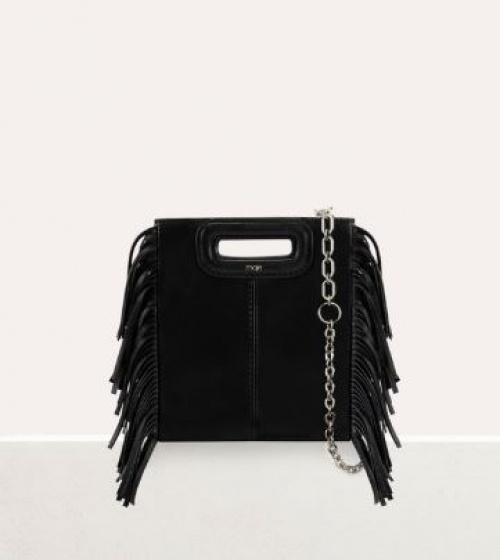 Maje - M Mini sac en cuir avec chaîne