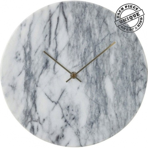 La Redoute Déco - Horloge murale Desire marbre blanc Kare Design