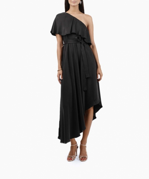 Zimmermann - Robe One Shoulder Noire