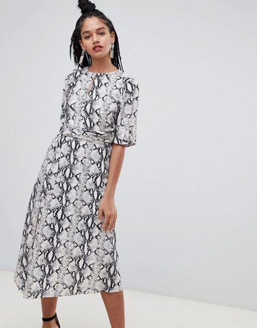 Miss Selfridge - Robe imprimée