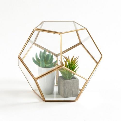La Redoute Interieurs - Uyova - Terrarium en verre et métal