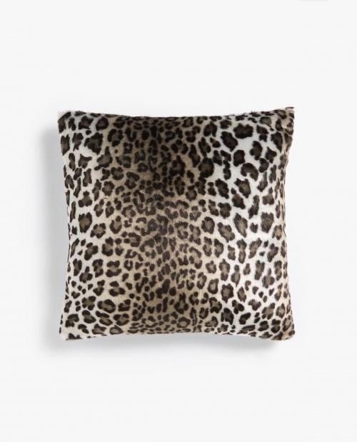 Zara Home - Housse de coussin effet poil d'animal - Léopard