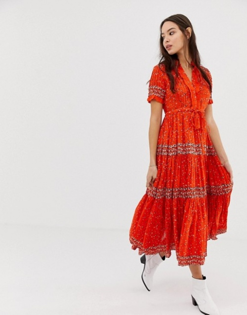 Free People - Robe maxi