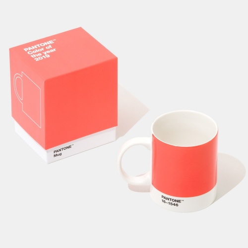 Pantone- Color of the Year 2019 mug Living Coral