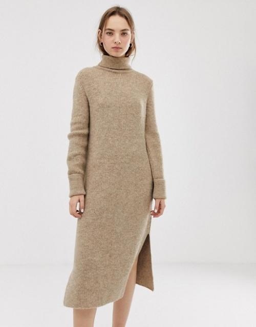 69cd7a92549 Mode   Les robes pulls qui vont nous envelopper de beauté tout l hiver