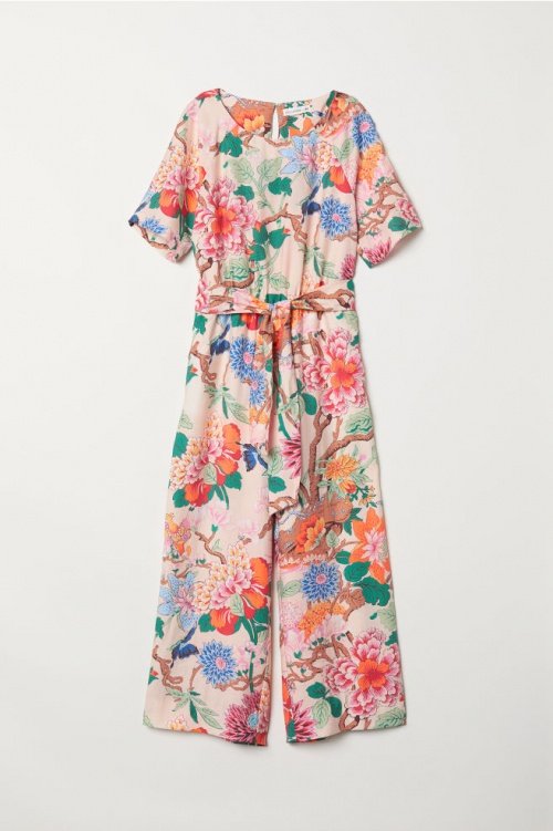 H&M- Combi-pantalon fleuri