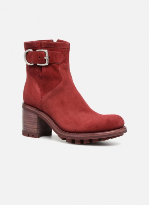 Freelance- Bottines rouges