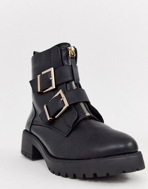 River Island- Bottines style motard