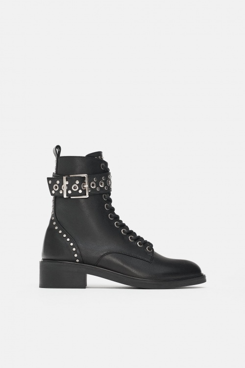 Zara- Bottines à clous