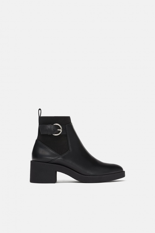 Zara- Bottines plates