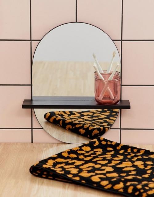 ASOS SUPPLY - Miroir avec étagère