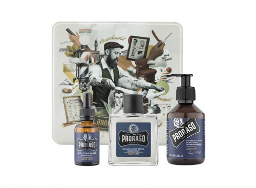 Proraso - Coffret Barbe Azur Lime