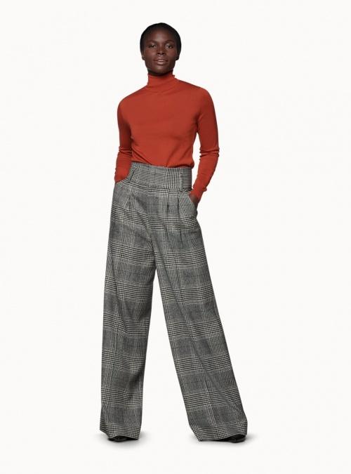 SuiStudio - Pantalon à carreaux