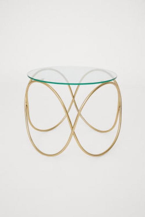 H&M Home - Table basse à plateau en verre