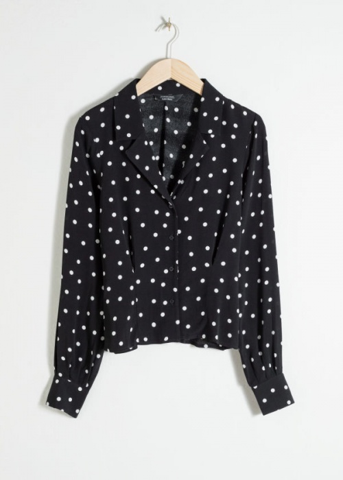 & Other Stories - Blouse à pois
