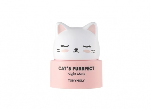 TonyMoly - Cat's Purrfect Night Mask