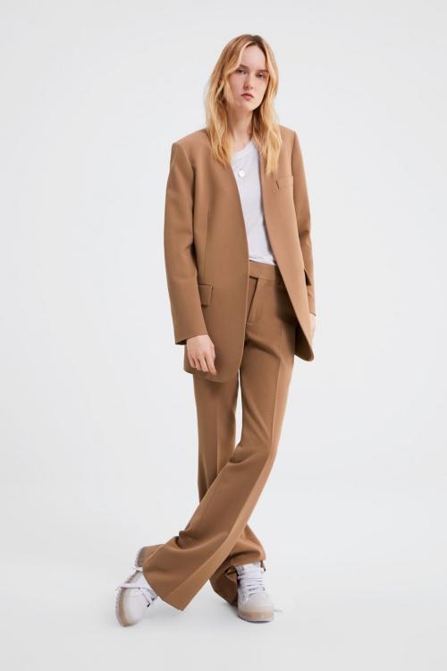 Zara - Veste avec poches à rabat