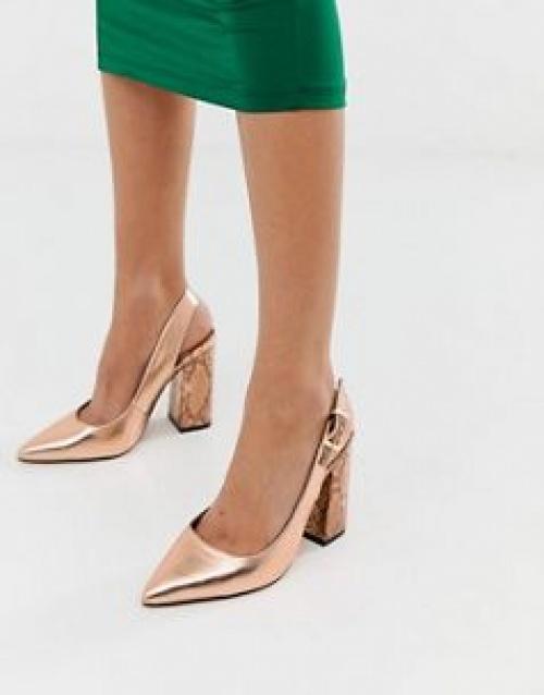 River Island - Chaussures à talons avec bride arrière