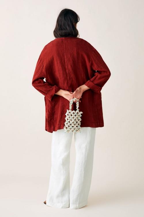 Zara - Mini sac à main à coquillages