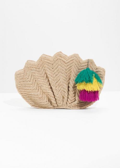 & Other Stories - Sac lotus au crochet