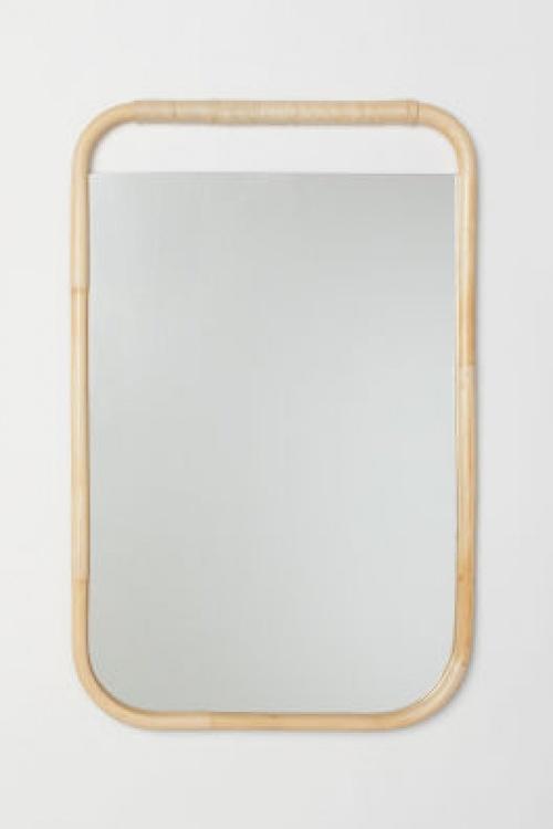 H&M Home - Miroir en bois