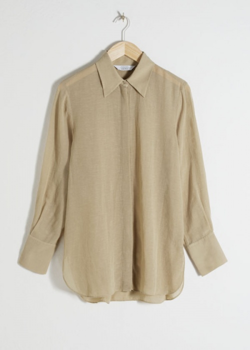& Other Stories - Blouse large