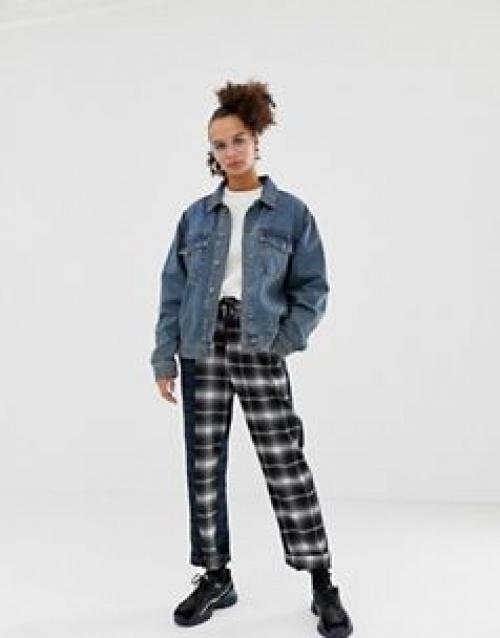COLLUSION - Veste en jean oversize