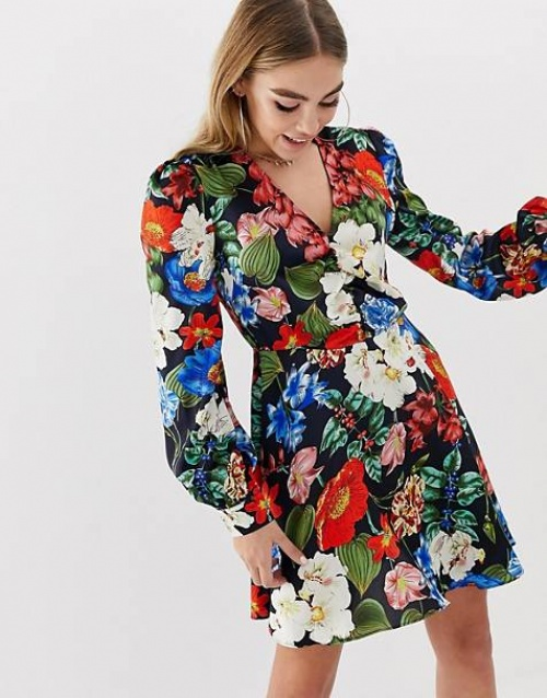 Boohoo - Robe fleurie
