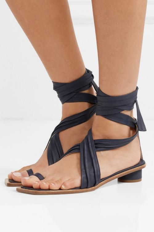 TIBI - Sandales en cuir Miles