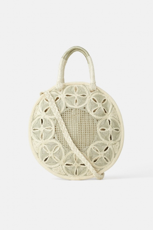Zara - Sac shopper rond