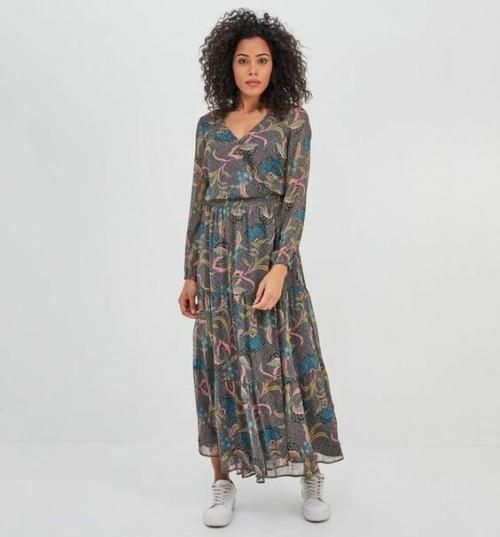 Promod - Longue robe imprimée