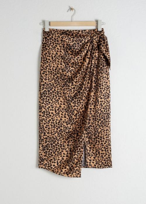 & Other Stories - Jupe à imrpimé léopard