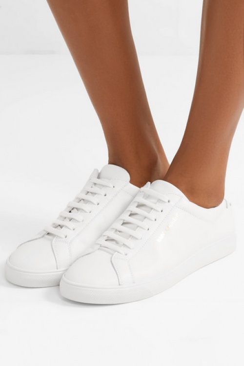 Saint-Laurent - Baskets en cuir Andy