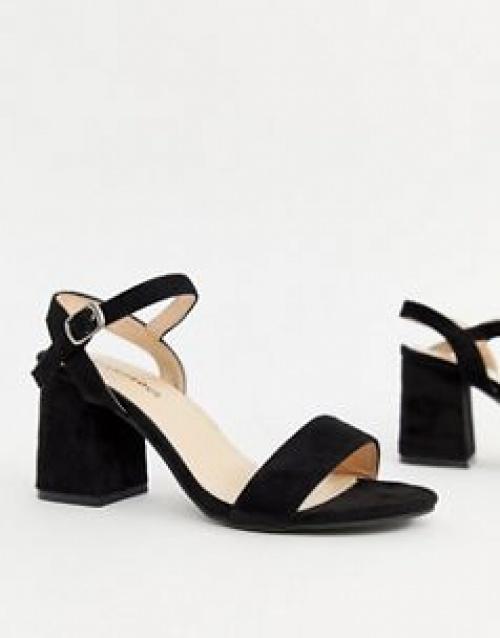 Glamorous - Sandales à talon carré mi-haut