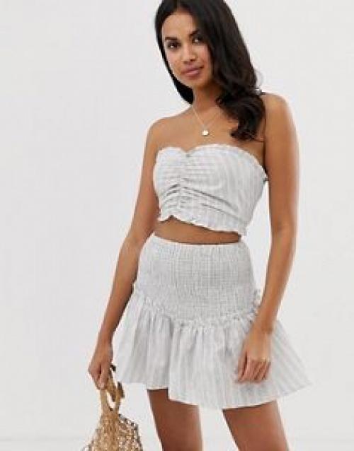 Glamorous - Vêtement de plage d'ensemble à rayures