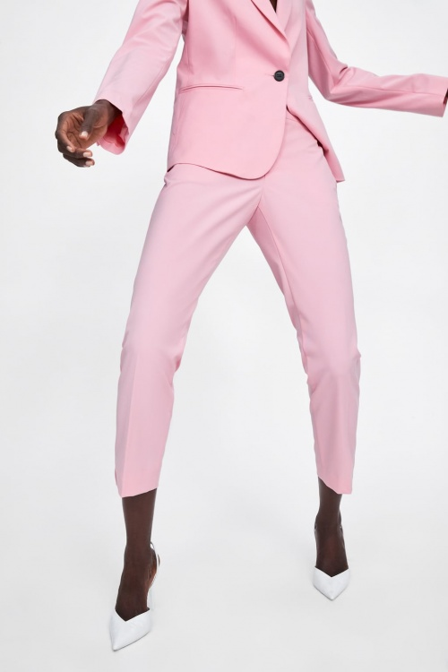 Zara - Pantalon cigarette
