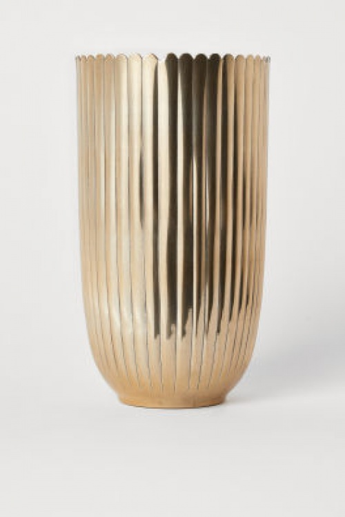 H&M Home - Grand vase en métal